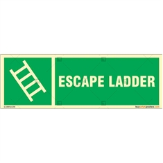 Growing Escape Ladder  Signboard