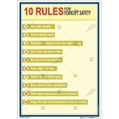 Rules For Forklift Safety