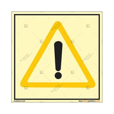 Autoglow Warning Square Sign
