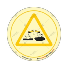 Acid Autoglow  Warning Sign