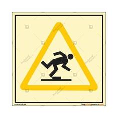 Mind The Step Autoglow Signboard