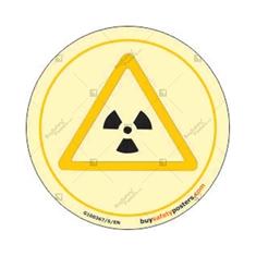 Biological Hazard Glow In The Dark Signboard