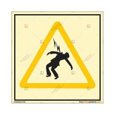 Danger Of Death Autoglow Signboard
