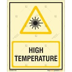 High Temperature Glow In The Dark Sign