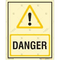 Danger Autoglow Signboard