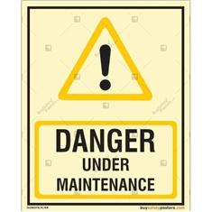 Danger Under Maintenance Autoglow Signboard