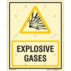 Explosive Gases Glow In The Dark Photo