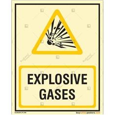 Explosive Gases Autoglow Posters