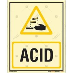 Acid Photoluminescent Signboard