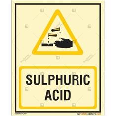 Sulphuric Acid Photoluminescent Signboard