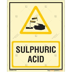Sulphuric Acid Autoglow Signboard