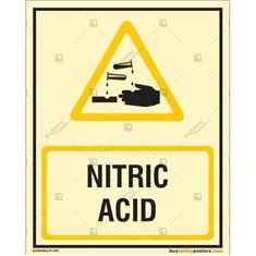 Nitric Acid Autoglow Signboard