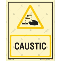 Caustic Autoglow Sign