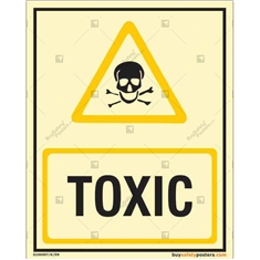 Toxic Autoglow Signboard