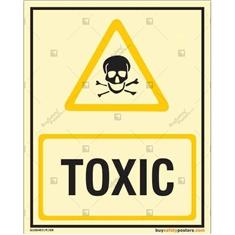 Toxic Photoluminescent Signboard