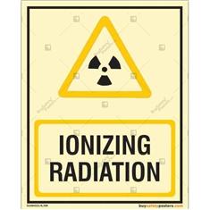 Ionizing Radiation Photoluminescent Signboard
