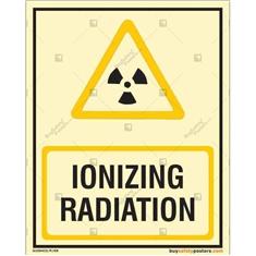 Ionizing Radiation Autoglow Signboard