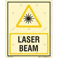 Laser Beam Photoluminescent Signboard