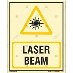 Laser Beam Autoglow Signboard