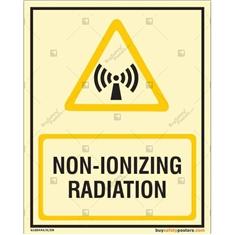 Non-Ionizing Radiation Autoglow Sign