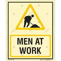 Man At Work Autoglow Sign