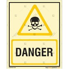 Danger Autoglow Display Sign