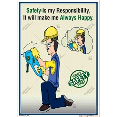 best-safety-posters-Safety-first-poster