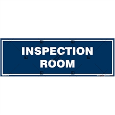 Inspection Room Area Signboard