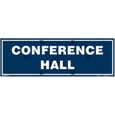 Conference Hall Display Signboard