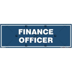 Finance Officer Location Display Board