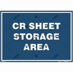 CRCA Sheet Storage Area