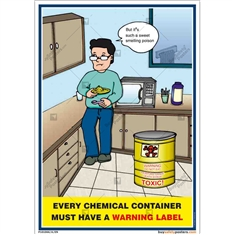 Chemical Warning Label