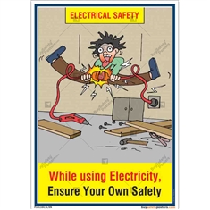 electrical-safety-posters-in-Hindi-electrical-shock-poster