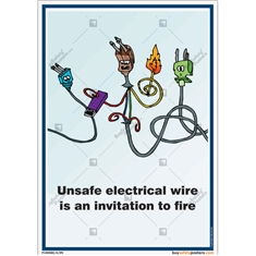 electrical-safety-awareness-posters