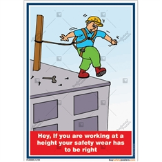 Height Safety EquiWorking-at-height-safety-posters-construction-site-rules-posterpment's