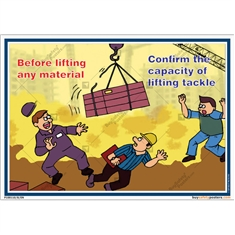 Material Lifting Accident Prevention