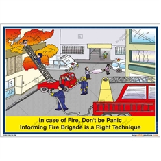 Fire-posters-Fire-Safety-Poster-drawing