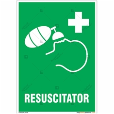 Resuscitator Sign in Portrait