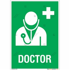 Doctor Sign in Portrait