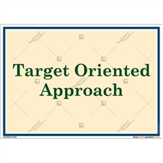 Poster-on-Target-Oriented-Approach