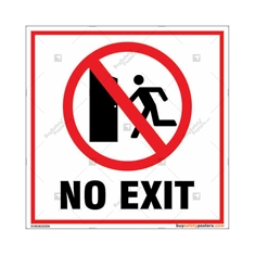 No Exit Signs in Square