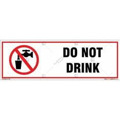 Do Not Drink Signboard