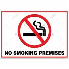 No Smoking Premises Sign Landscape