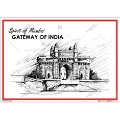 Gateway Of India Art Poster