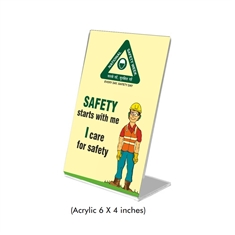 Safety Promotion Standee