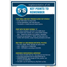 5S Key Points