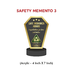 Safety Campaign Trophy