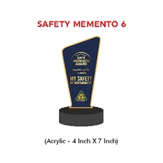 Congratulations Safety Trophy