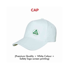National Safety Week Logo Cap