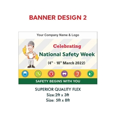 Banner for National Safety Week